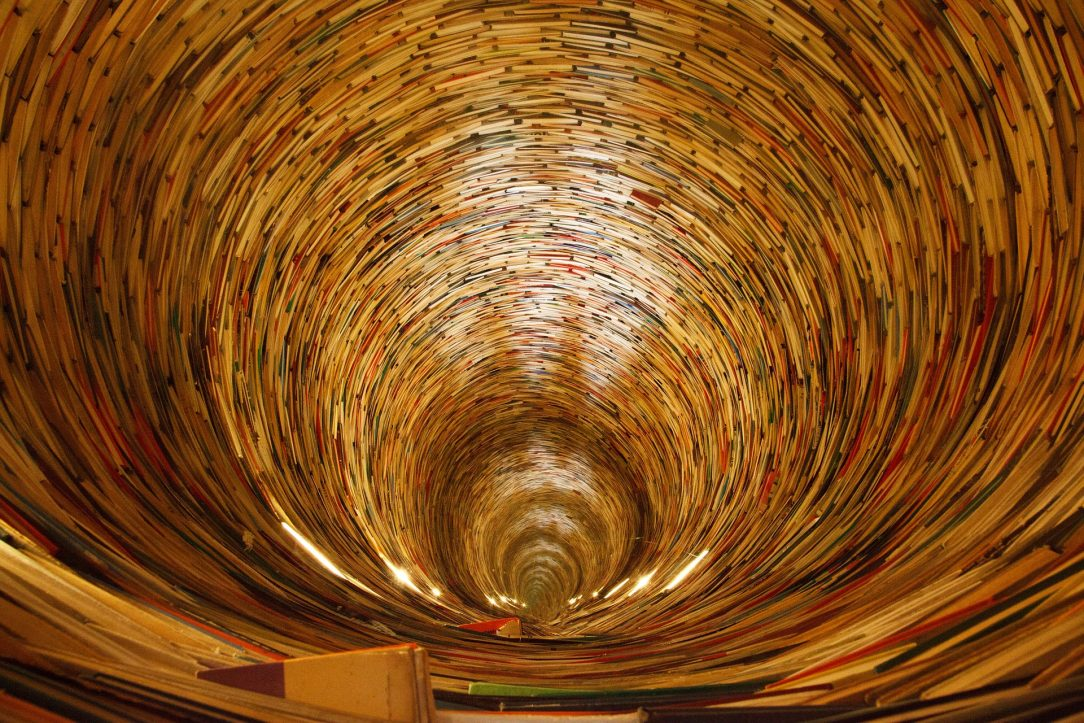 A bottomless pit of books