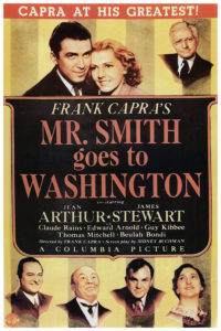 Mr. Smith Goes to Washington movie poster, a classic movie about American government.